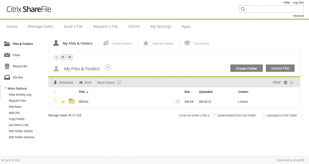Localized ShareFile WebUI available | Citrix Blogs