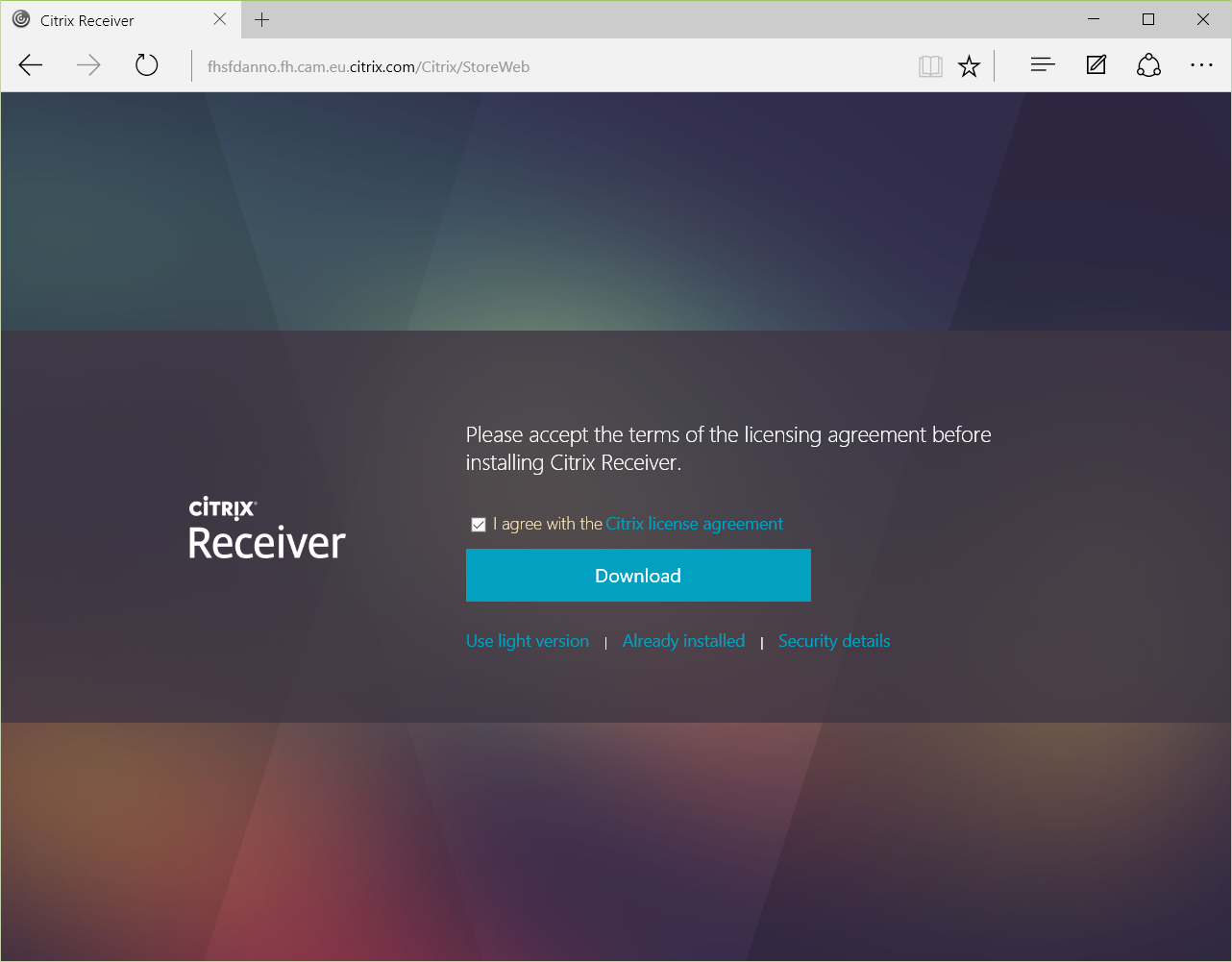 StoreFront 3 0 and Windows 10 Edge Browser | Citrix Blogs