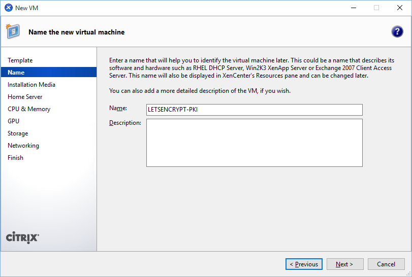 Using Let's Encrypt for free SSL Certs with Netscaler   Citrix Blogs