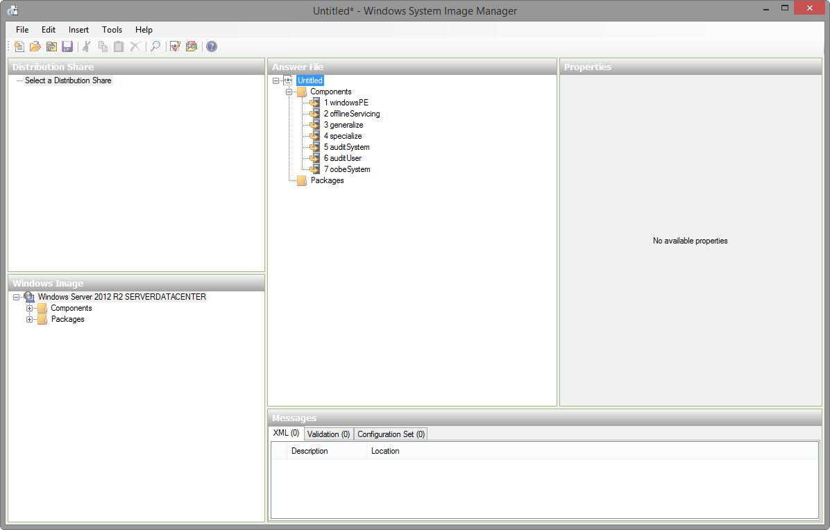 Building a Windows 2012 R2 Template for Citrix Lifecycle