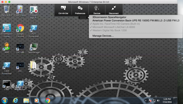 Generic USB Redirection Now Available in Receiver for Mac