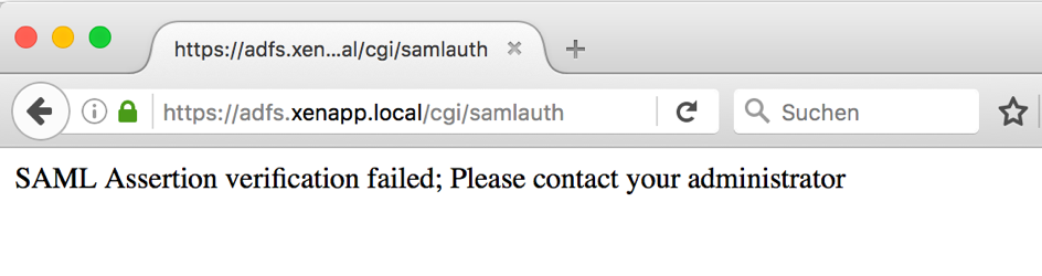 Deploying SAML Authentication with ADFS for Federated Authentication
