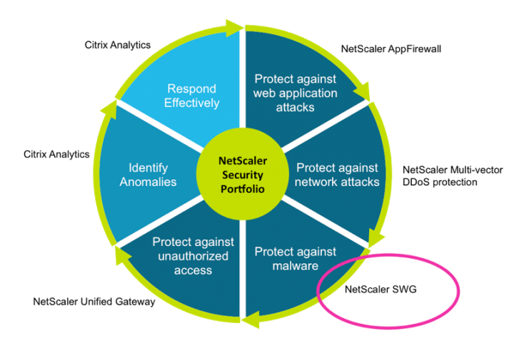 NetScaler SWG is an Effective, Easy-to-Use, and High-Performing Web Security Solution with User Behavior Analytics.