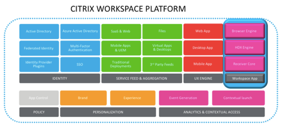 Citrix Workspace Platform and Citrix Workspace App