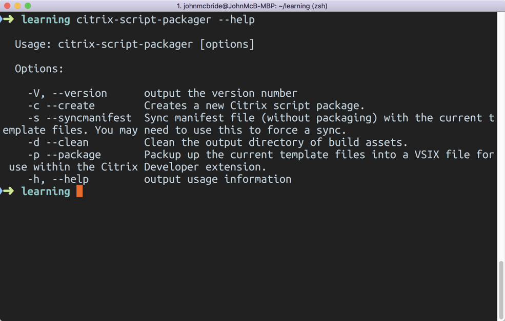 Scripts, scripts and more scripts! Package & deploy with