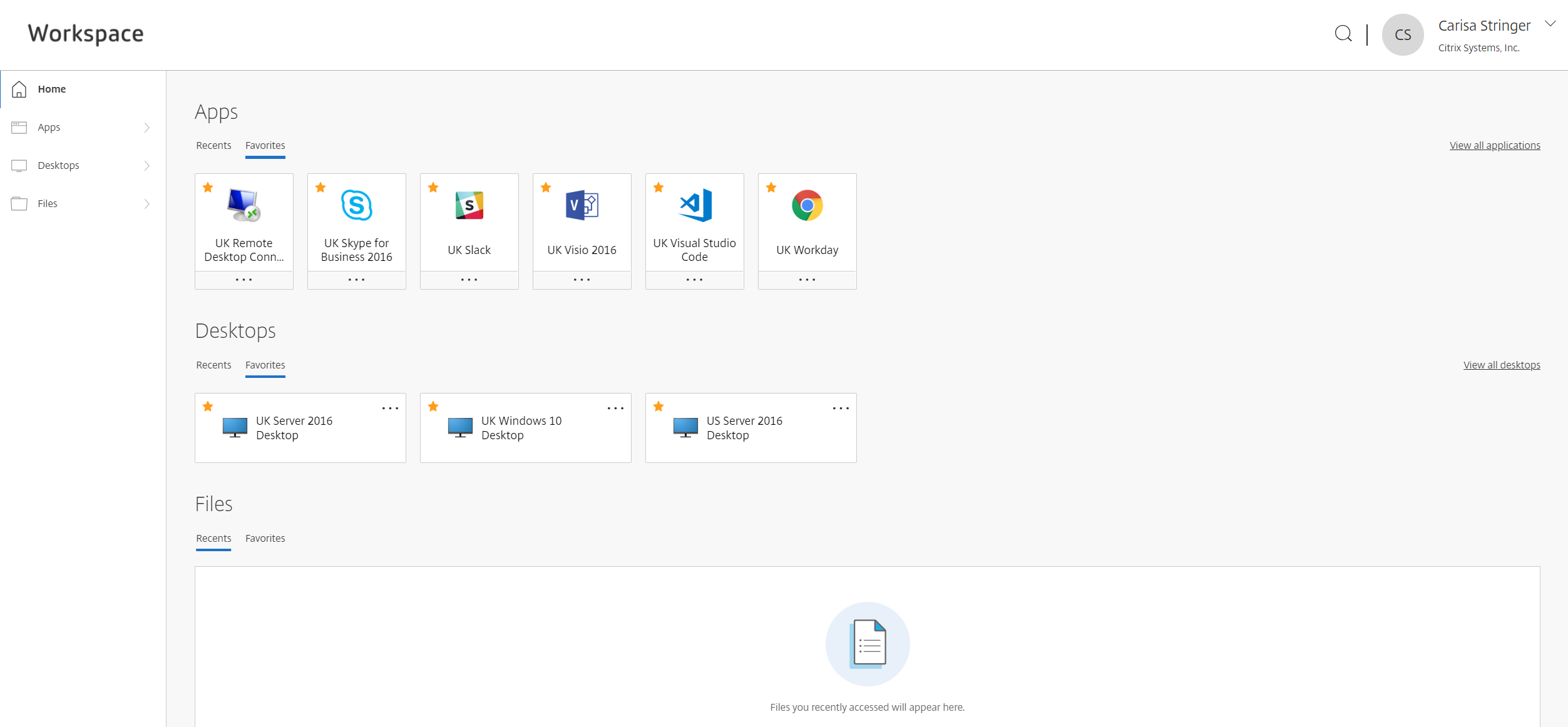 The New Workspace User Interface is Here! | Citrix Blogs