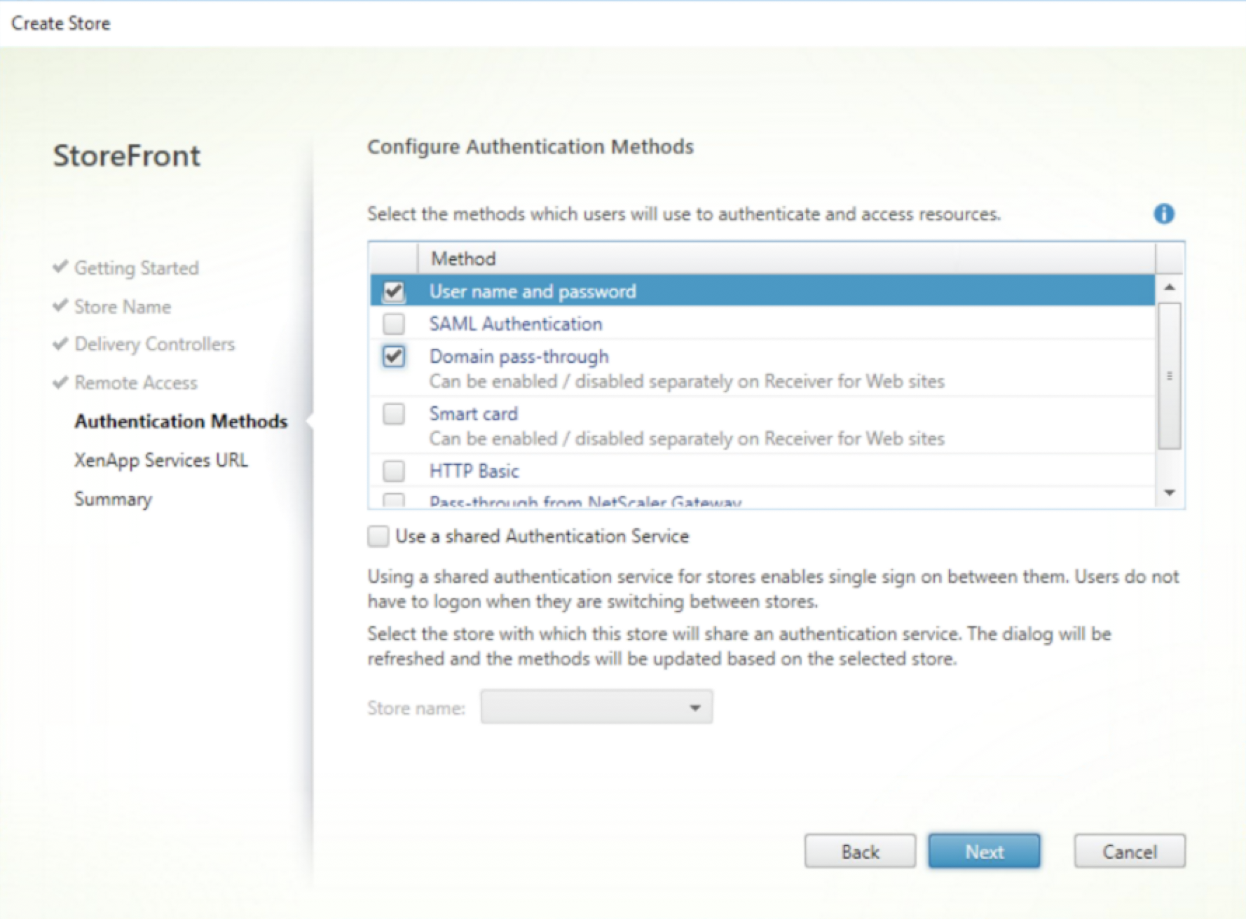 How to Bypass the Authentication Choice Page | Citrix Blogs