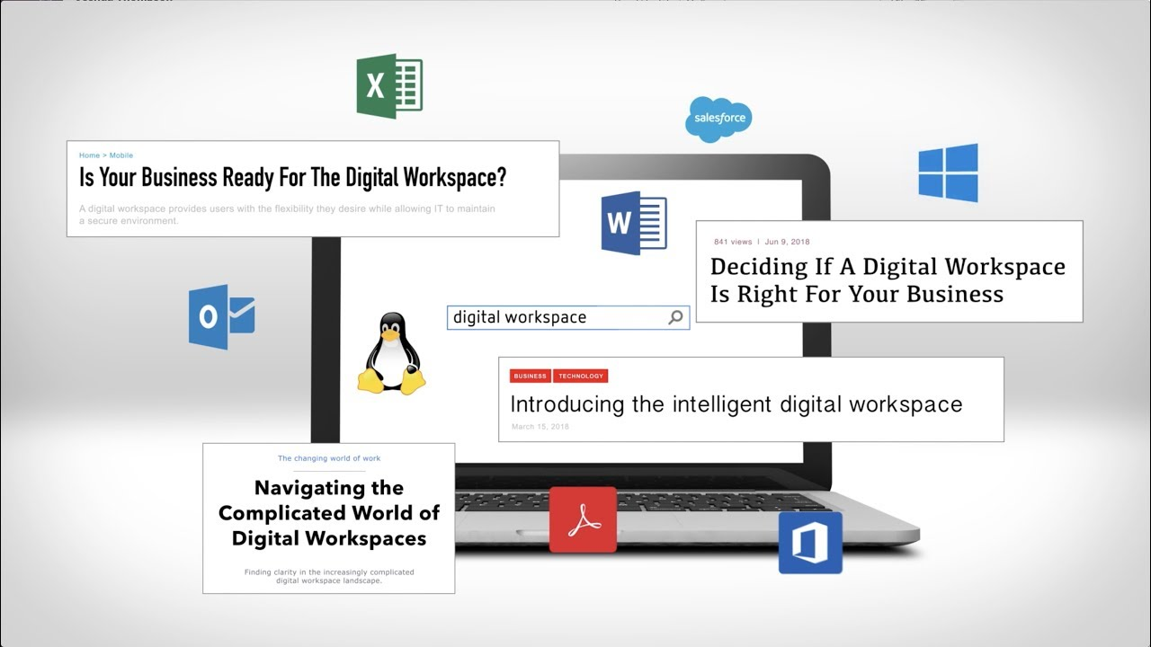 Citrix Workspace: the ONE complete digital workspace solution