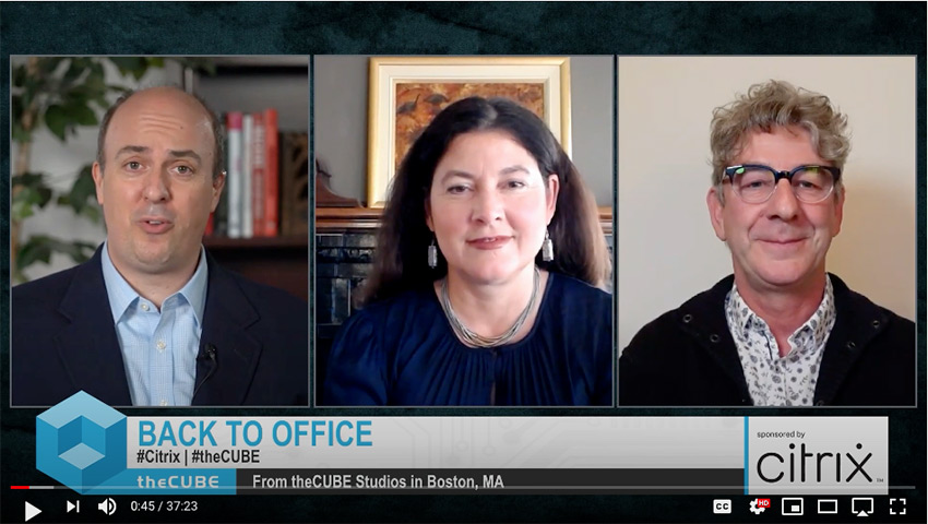 Maribel Lopez, Lopez Research and PJ Hough, Citrix | CUBE Conversation, September 2020