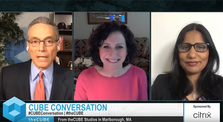 Donna Kimmel & Meerah Rajavel, Citrix | CUBE Conversation, April 2020