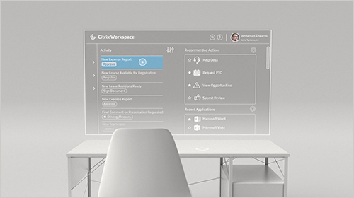 Citrix Workspace with intelligence. IT will never be the same.